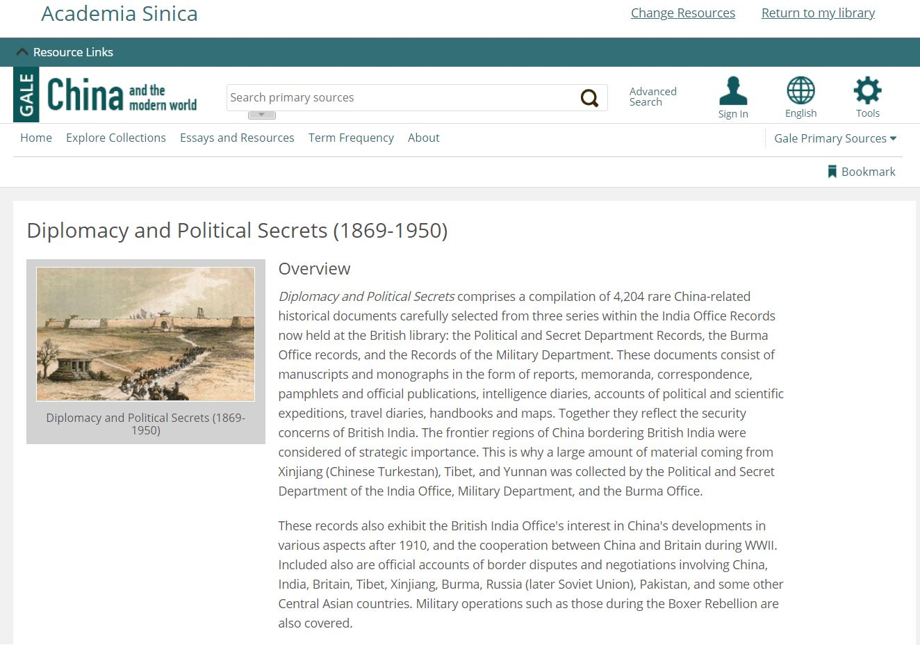 China and the Modern World: Diplomacy and Political Secrets, 1860-1950