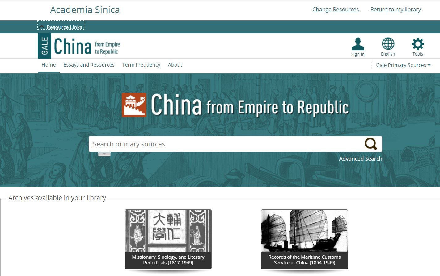 China from Empire to Republic