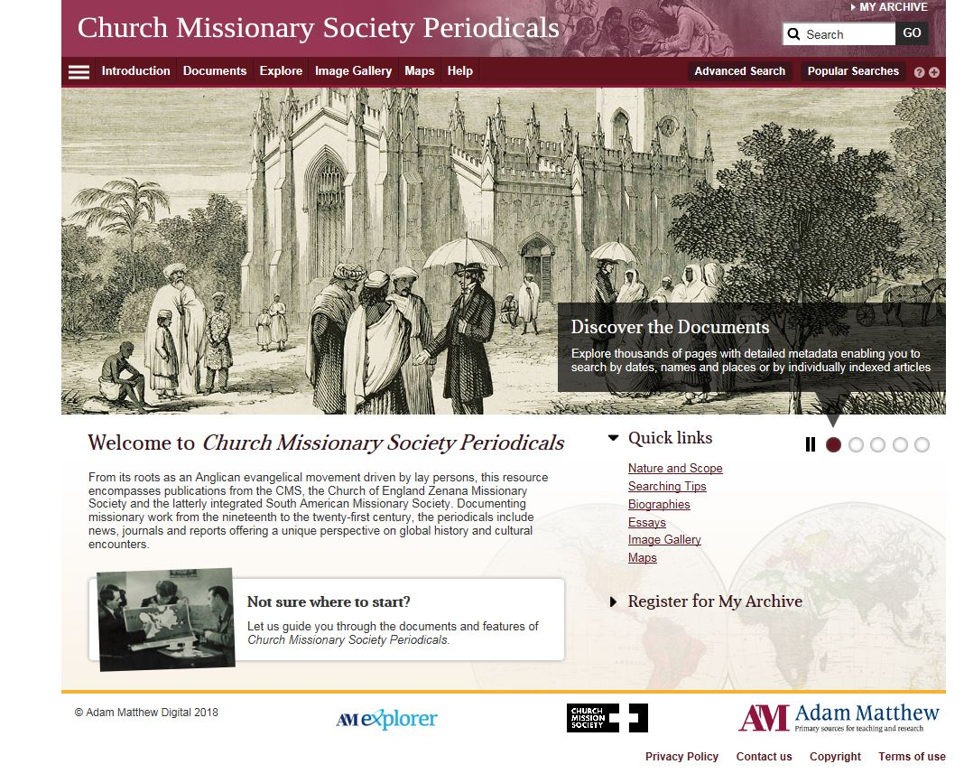 Church Missionary Society Periodicals