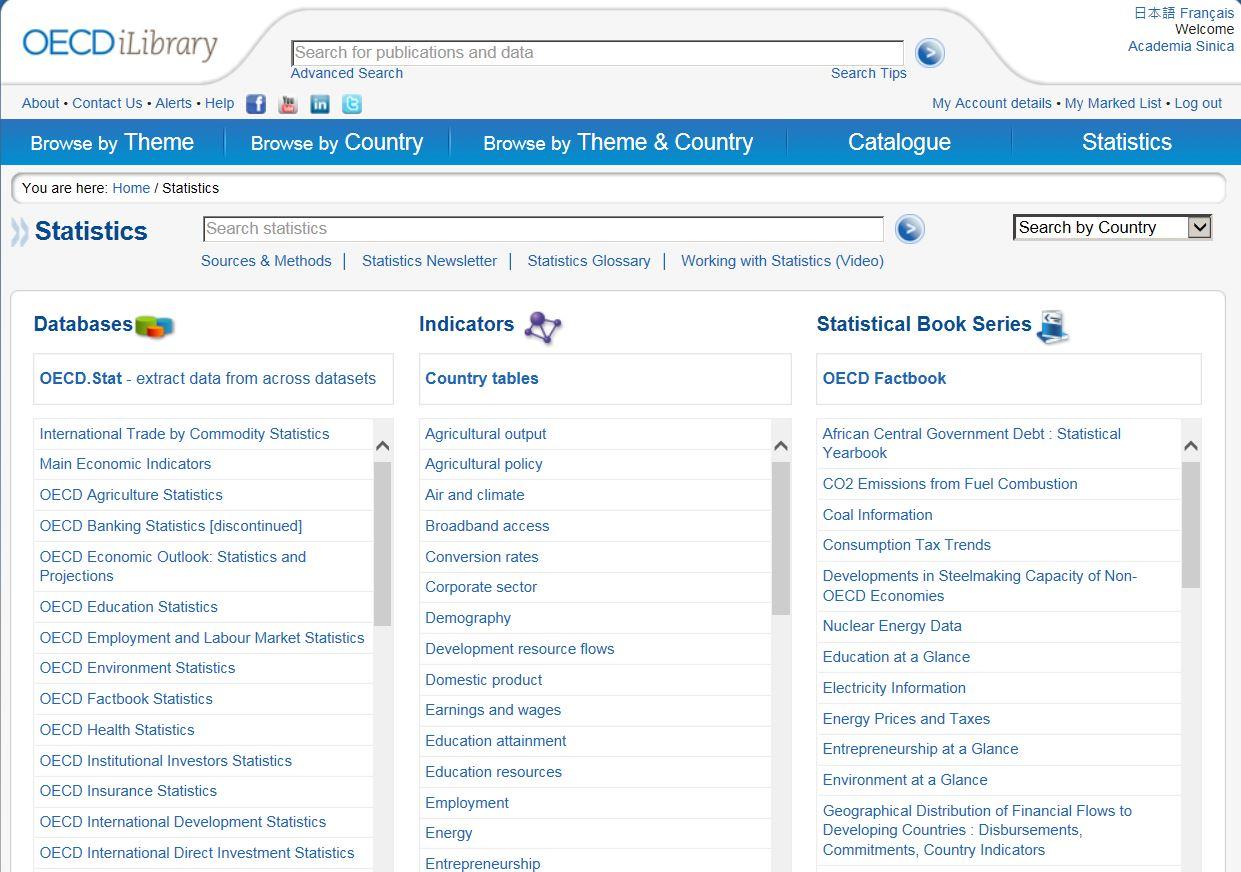 OECD iLibrary-IEA Statistics
