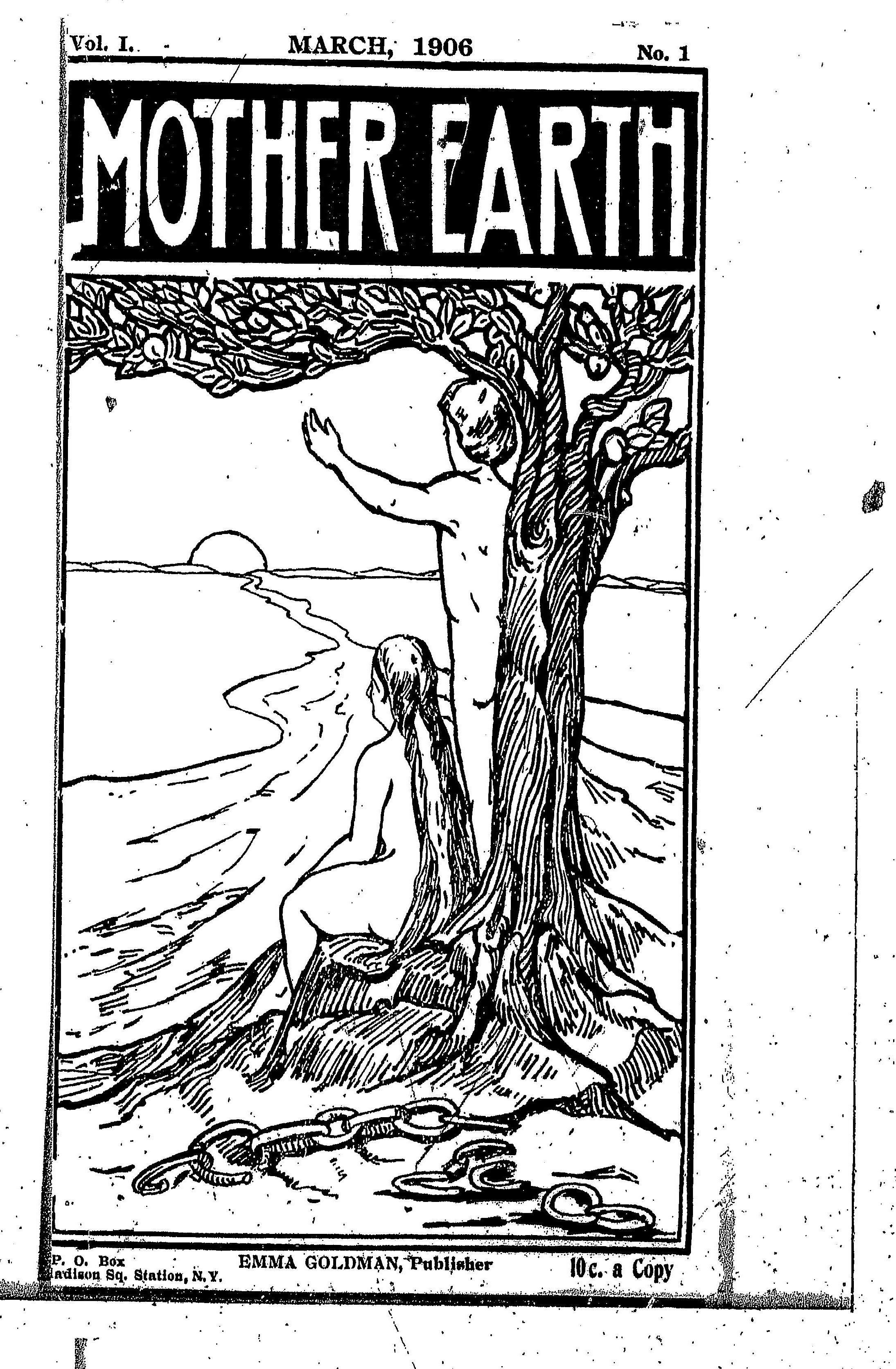 美國婦女史微縮資料簡介(26) Mother Earth (1906-1917)